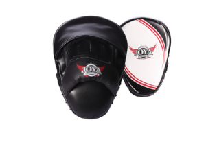JOYA PROLINE COACHING MITTS CURVE, LEATHER