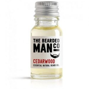 The Bearded Man Cedarwood Beard Oil (10 ml)